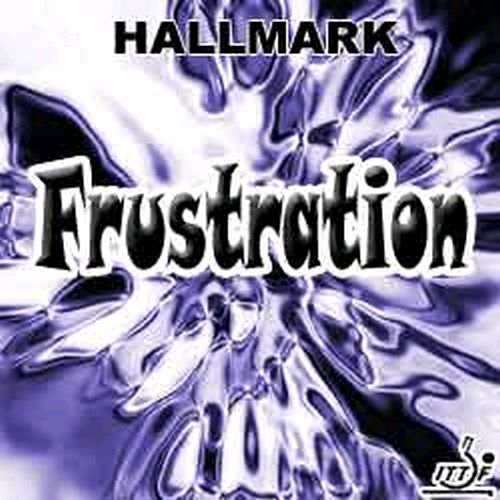 Hallmark Frustration Table Tennis Rubber From Speedy Bat